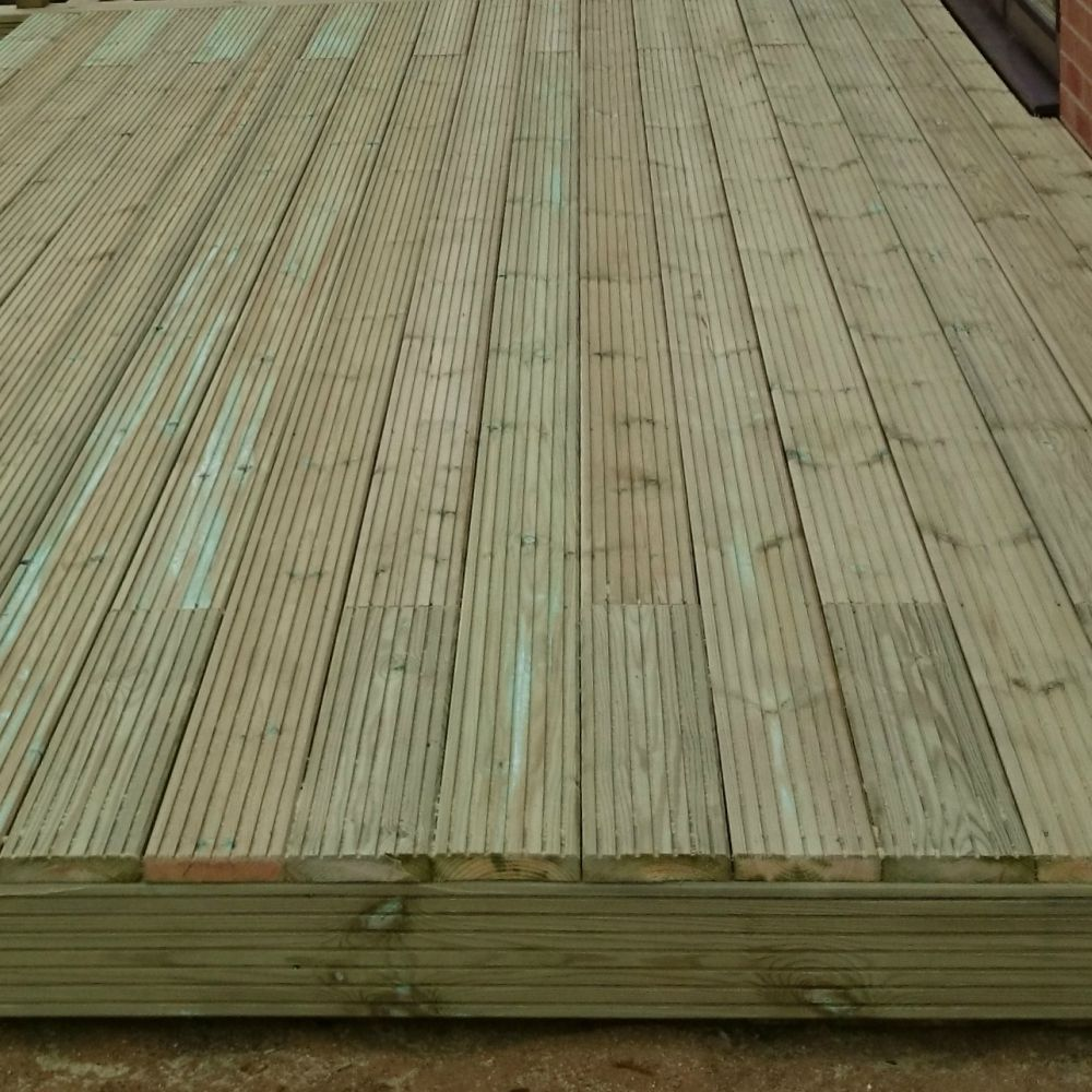 Decking Boards 28 x 145mm 4.8 metre