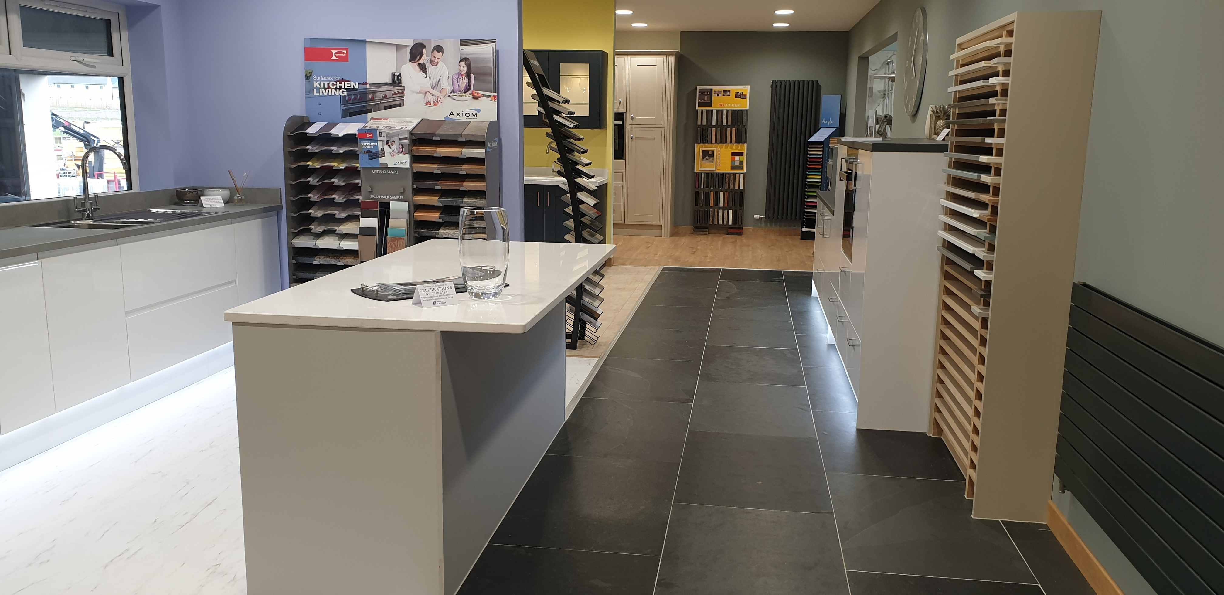 KITCHEN AND BATHROOM SHOWROOM NOW OPEN