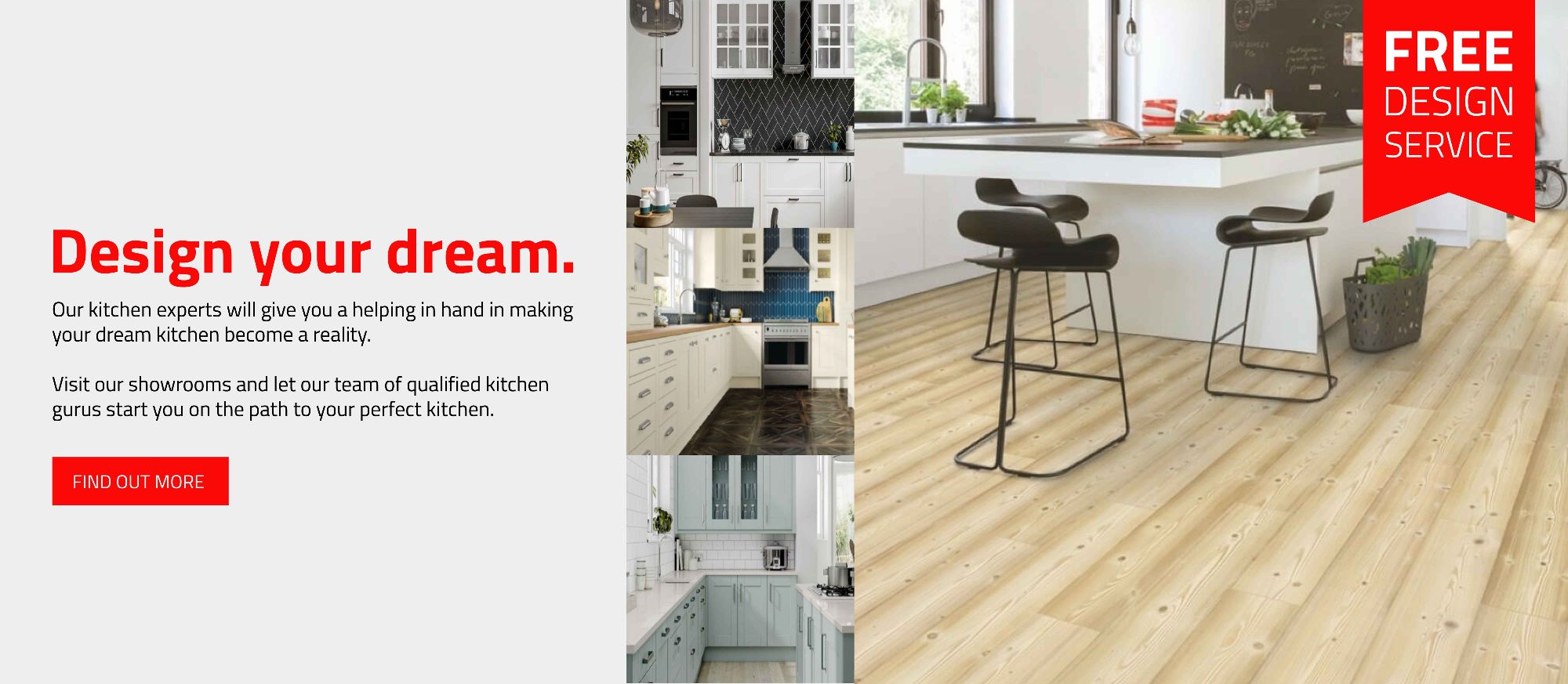 Design your dream kitchen - click to find out more